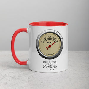 'Full of Prog' Mug with Color Inside