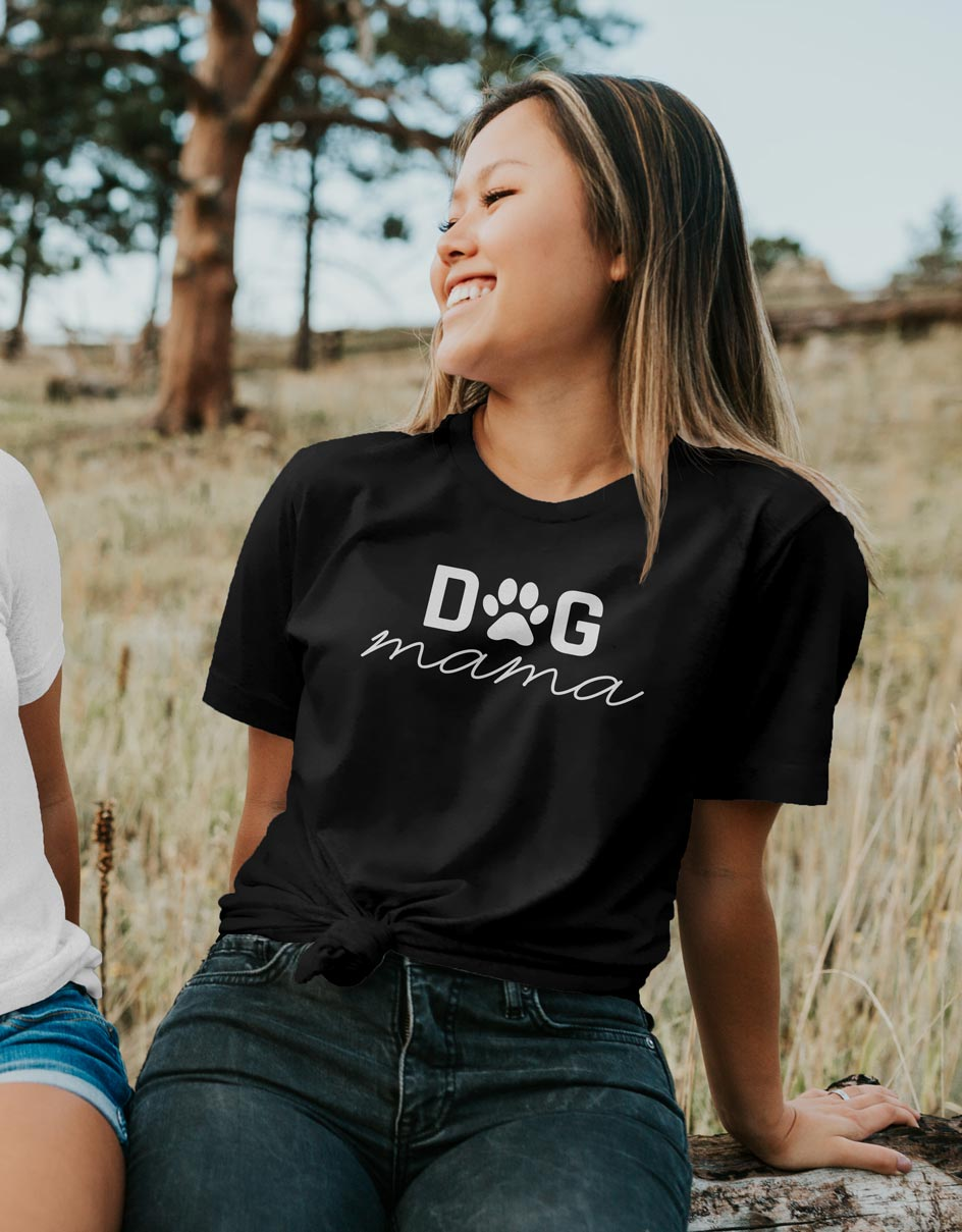 Dog Mama - Dog Lover Unisex Fit T-Shirt