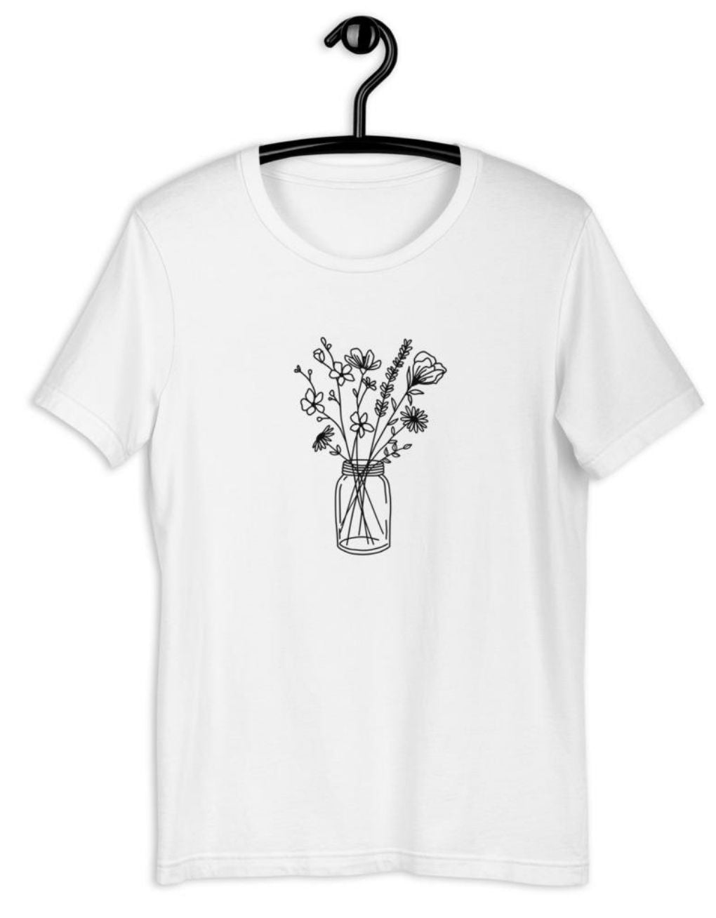 Mason Jar Flowers Women's Tee