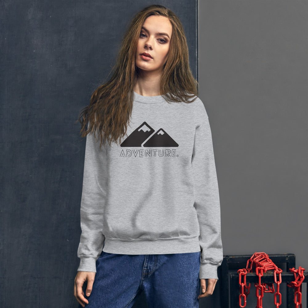 Adventure - Outdoor Travel Luxury Unisex Sweatshirt