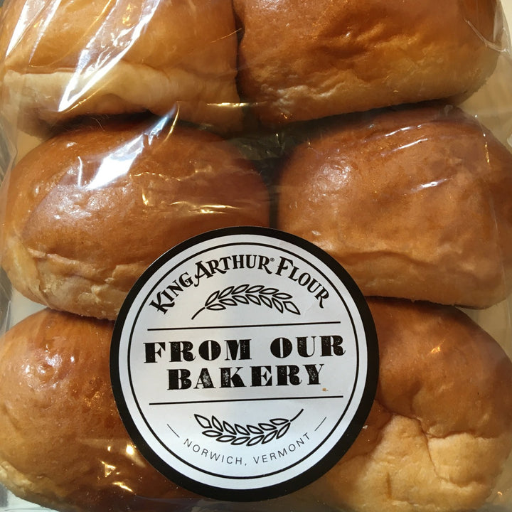King Arthur Flour Burger Buns-available thurs 5/28