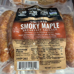 Smoky Maple Sausage