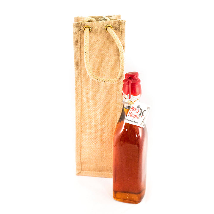 Bourbon Maple Syrup Flute & Gift Bag