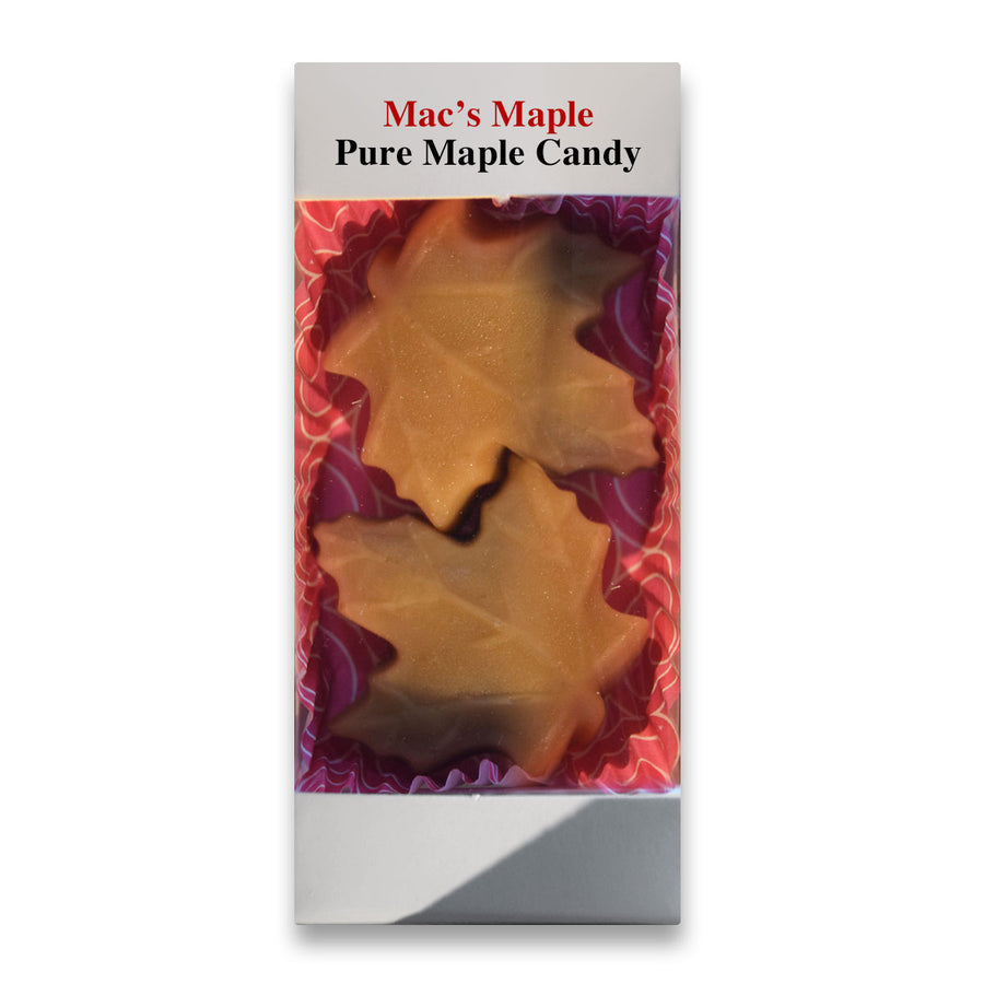 Pure NH Maple Candy Leaves 2 Pack