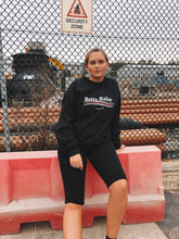 Load image into Gallery viewer, Black Boss Babe Sweatshirt
