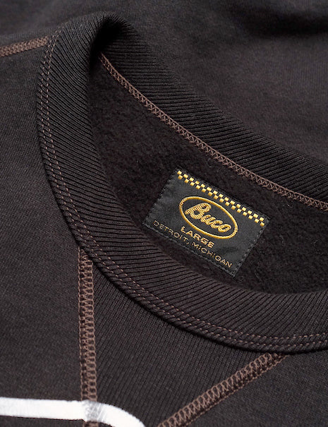 Buco Engineer Sweatshirt in Black-Layers-The Real McCoy's-General Quarters