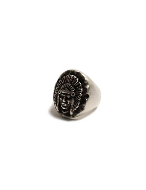 Chief Ring in Sterling Silver
