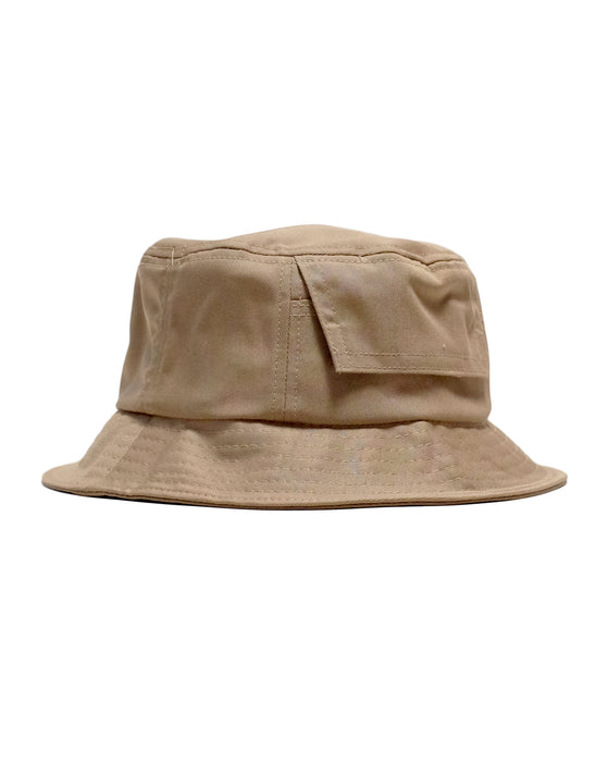 Bucket Hat in Khaki-Accessories-Corridor NYC-General Quarters