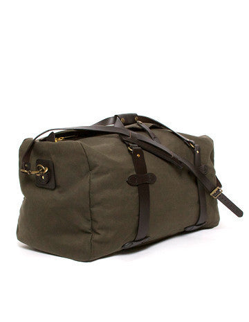 Medium Duffle in Otter Green