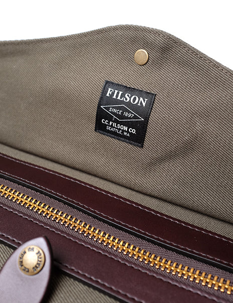 Small Duffle in Otter Green-Supplies-Filson-General Quarters
