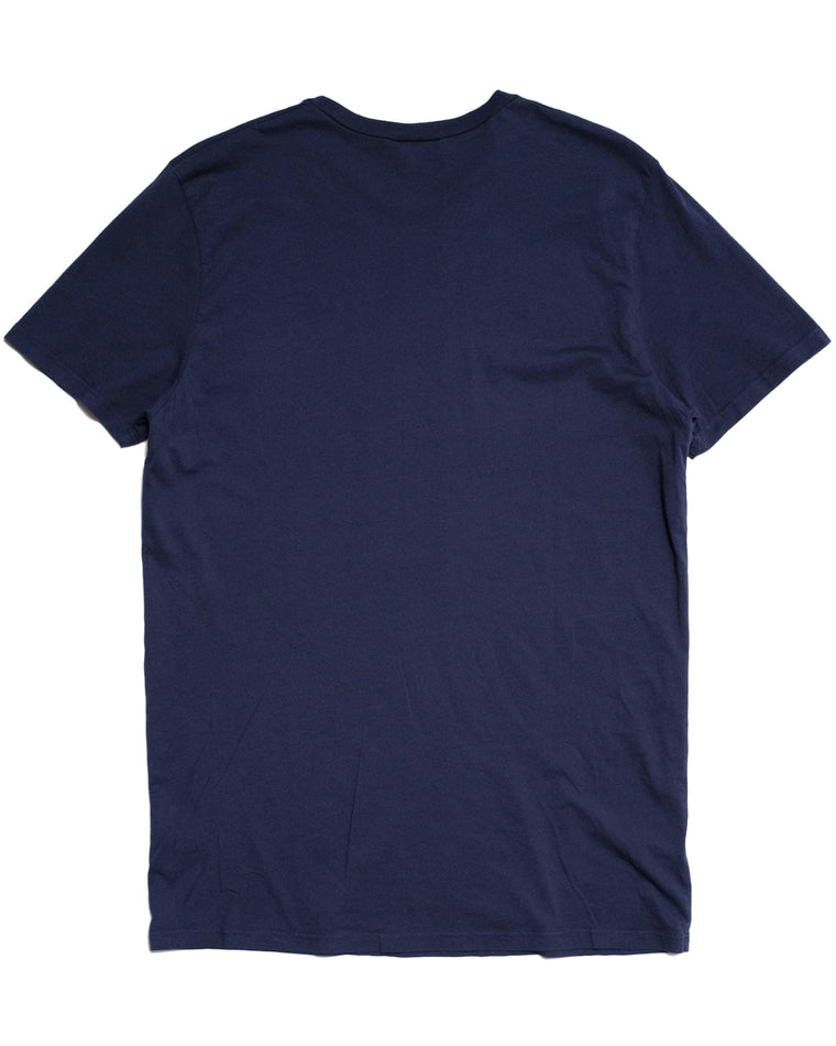 Basic T-Shirt in Navy-T-Shirts-General Quarters-General Quarters