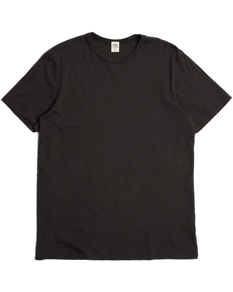 Basic T-Shirt in Vintage Black
