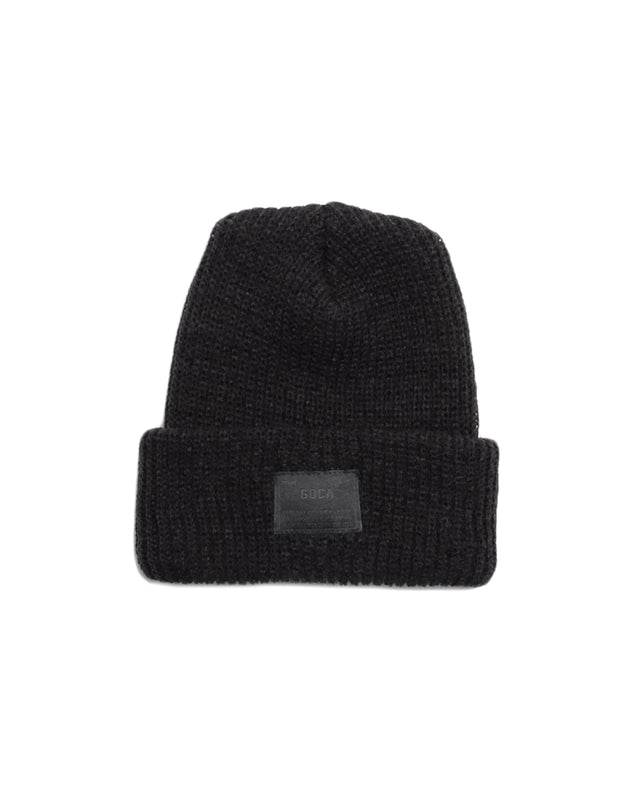 Beanie in Black-Accessories-General Quarters-General Quarters