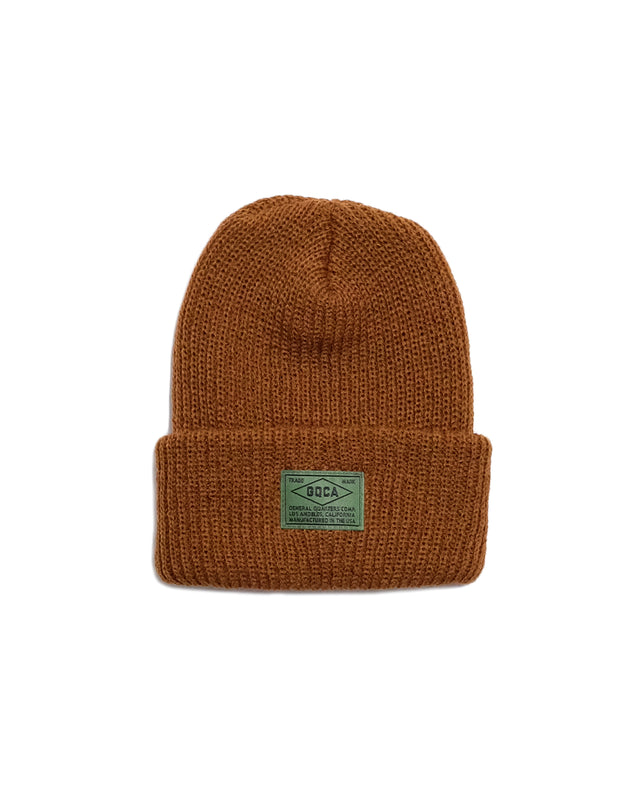 Beanie in Ochre-Accessories-General Quarters-General Quarters