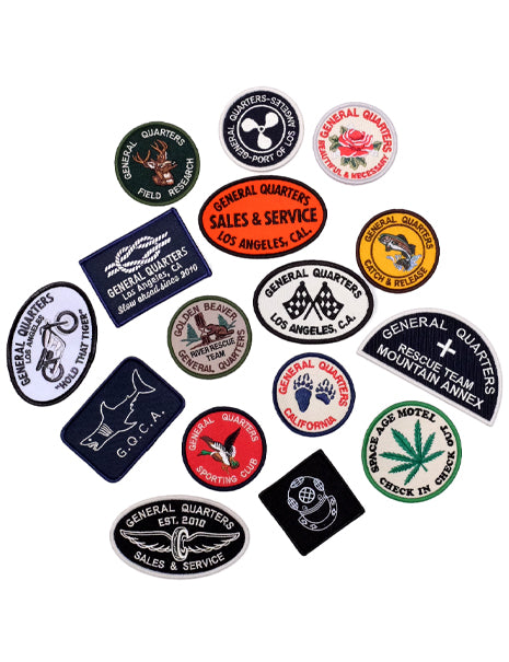 Shop Patches in Assorted-Accessories-General Quarters-General Quarters