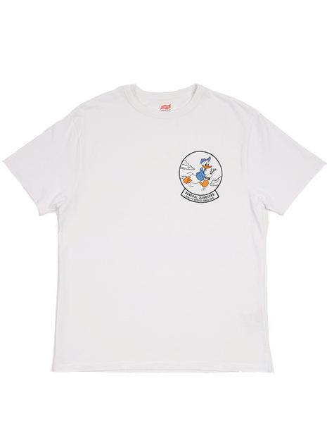 General Quarters x TSPTR Donald Duck T-Shirt in White