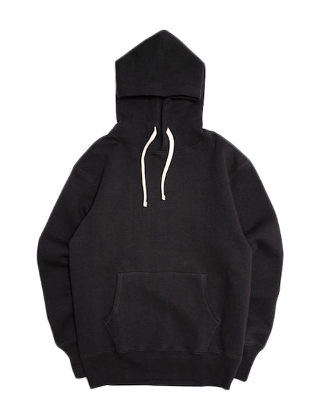 Loopwheel Hoodie in Black-Layers-The Real McCoy's-General Quarters