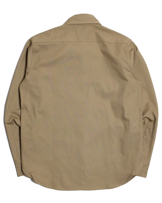 M-38 Shirt in Khaki-Shirting-The Real McCoy's-General Quarters