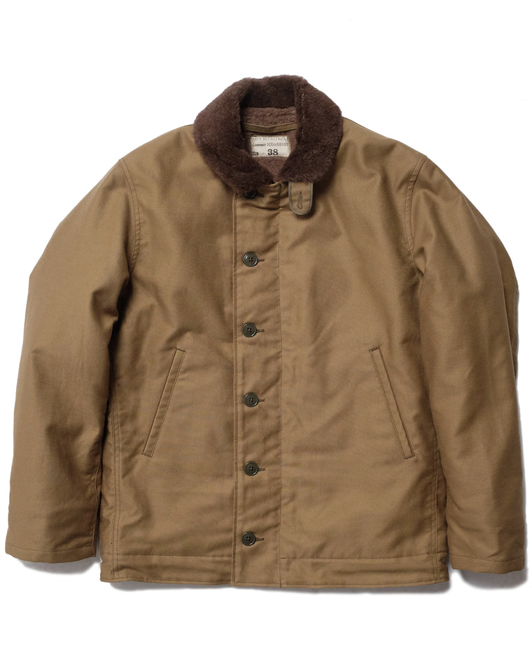 N-1 Deck Jacket in Khaki