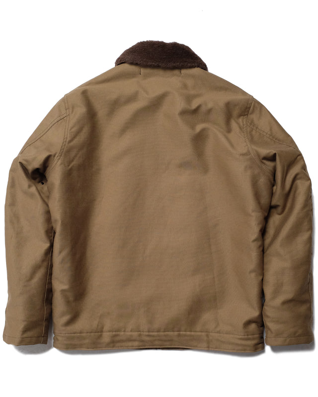 N-1 Deck Jacket in Khaki-Layers-The Real McCoy's-General Quarters