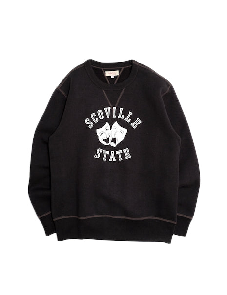 Scoville Loopwheel Sweatshirt in Black-Layers-The Real McCoy's-General Quarters