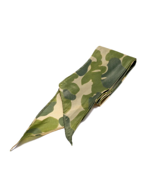 WW2 Parachute Scarf in Camo-Supplies-The Real McCoy's-General Quarters