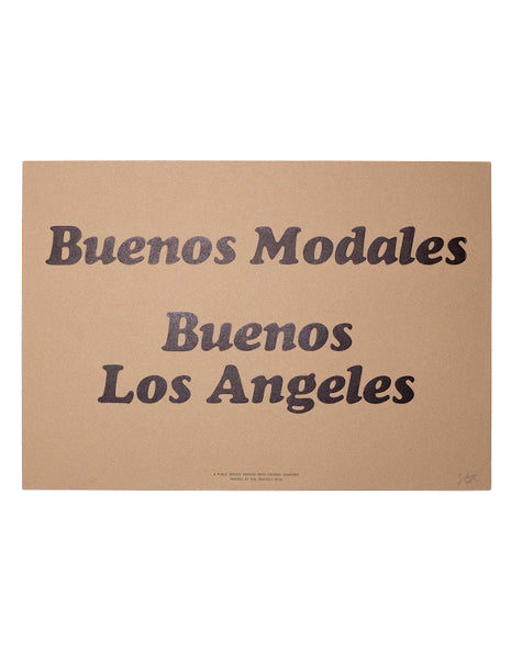 Good Manners Print in Spanish