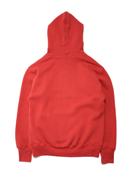 Loopwheel Hoodie in Red-Layers-The Real McCoy's-General Quarters