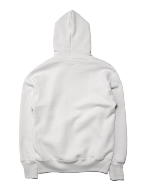 Loopwheel Hoodie in White-Layers-The Real McCoy's-General Quarters