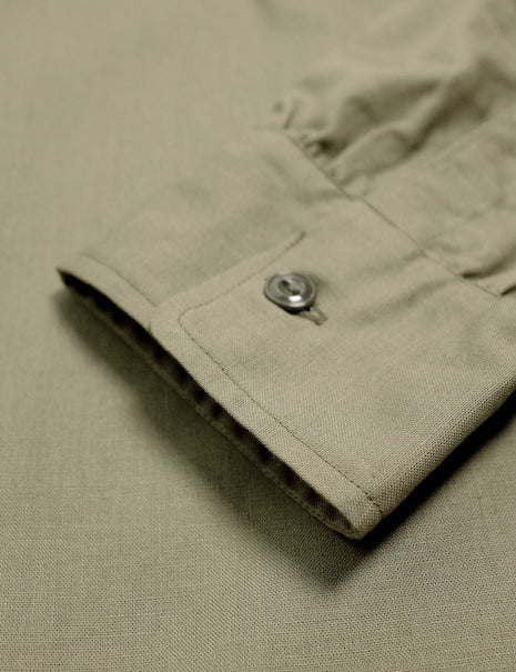 N-3 Utility Shirt in Olive-Shirting-The Real McCoy's-General Quarters