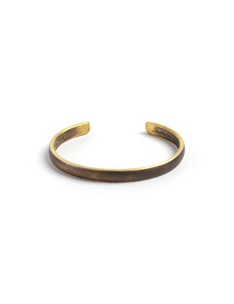 Lodge Cuff in Brass
