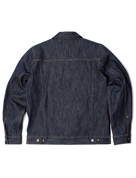 16.5 oz. Denim Jacket in Indigo-Layers-Tellason-General Quarters