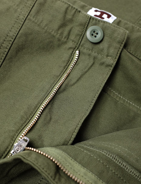 Fatigue Pant in Olive Sateen