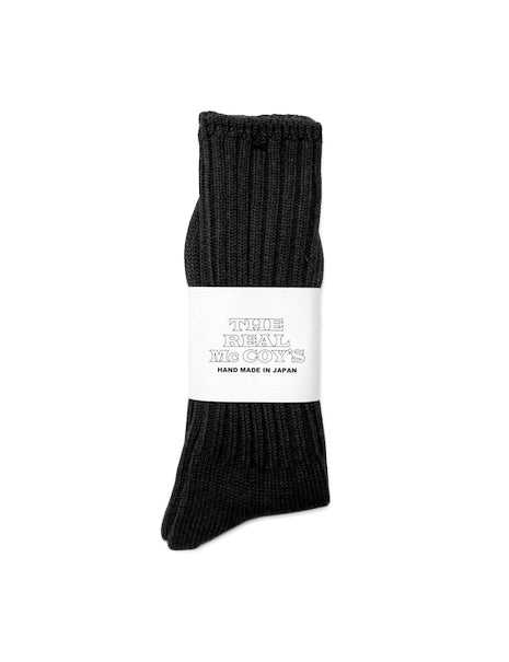 Country Socks in Charcoal-Accessories-The Real McCoy's-General Quarters
