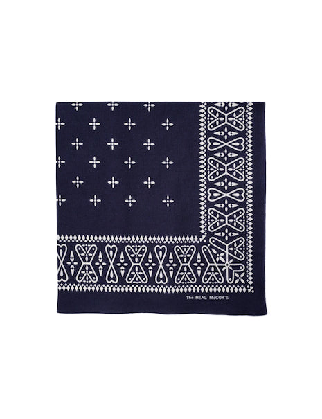 Cross Bandana in Navy-Accessories-The Real McCoy's-General Quarters