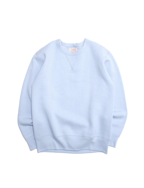 Loopwheel Sweatshirt in Saxe Blue