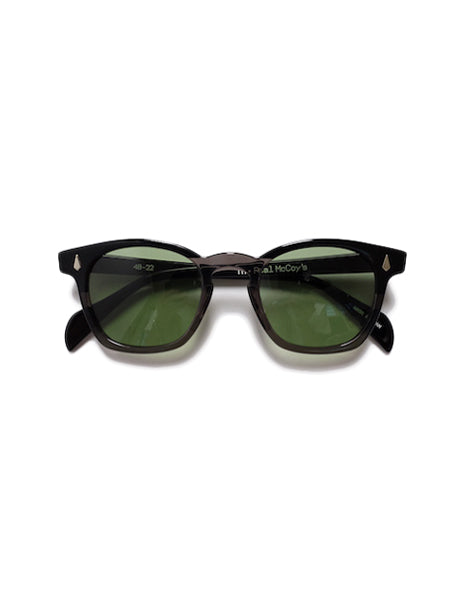 Wellington Sunglasses in Black-Accessories-The Real McCoy's-General Quarters
