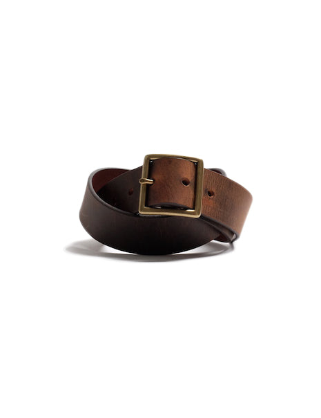 Uniform Belt in Rough Brown