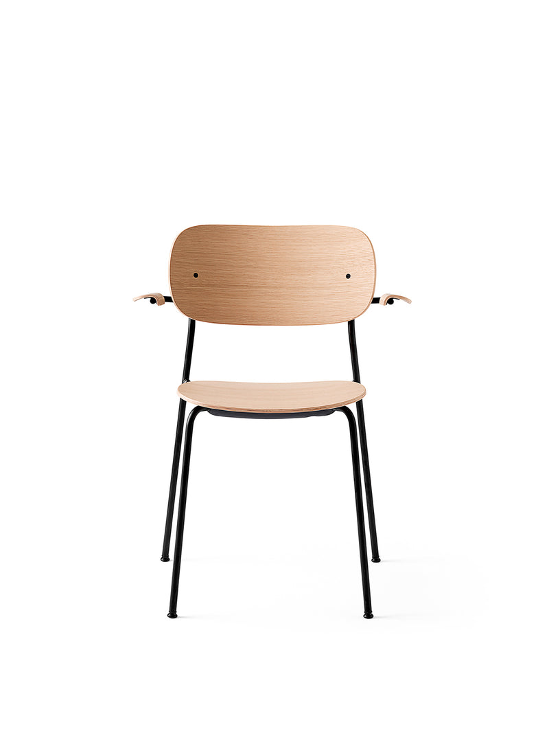 Co Chair, with armrest, Black
