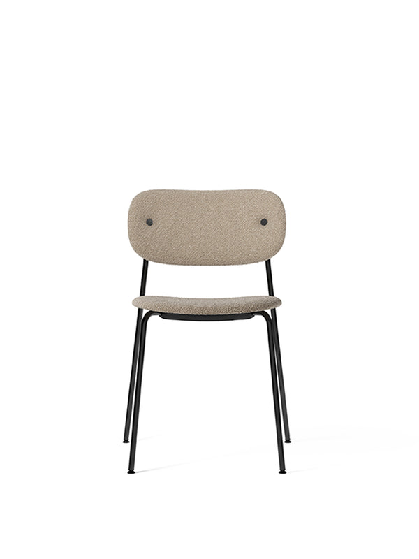Co Chair, fully upholstered, Black
