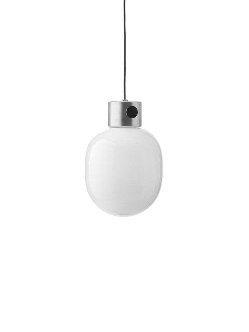 JWDA Pendant Lamp, Brushed Steel