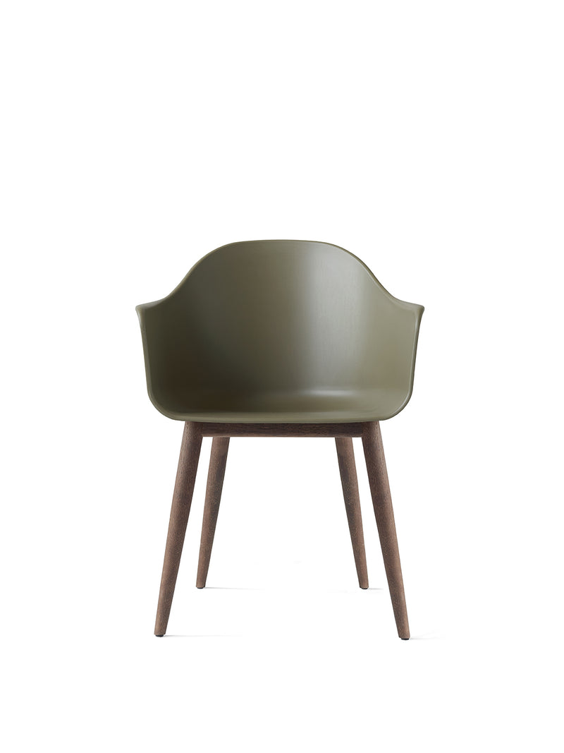 Harbour Dining Chair, Wooden Base