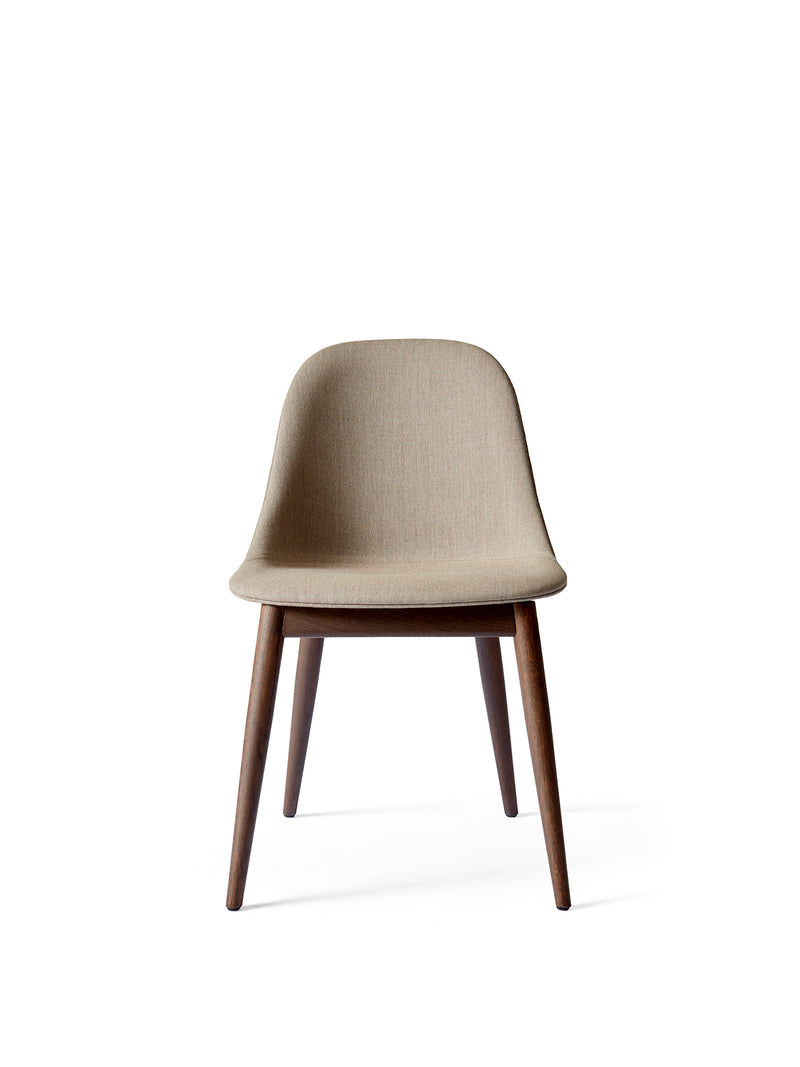 Harbour Side Chair, Wooden Base, upholstered