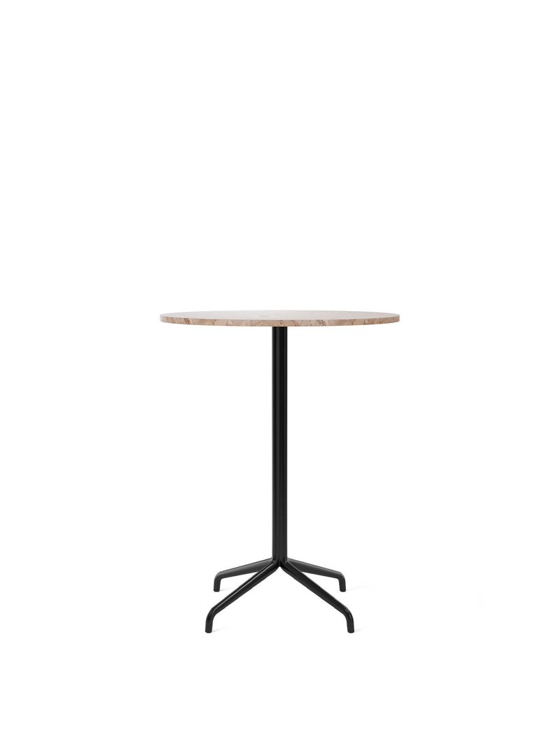 Harbour Column Table, Round With Star Base