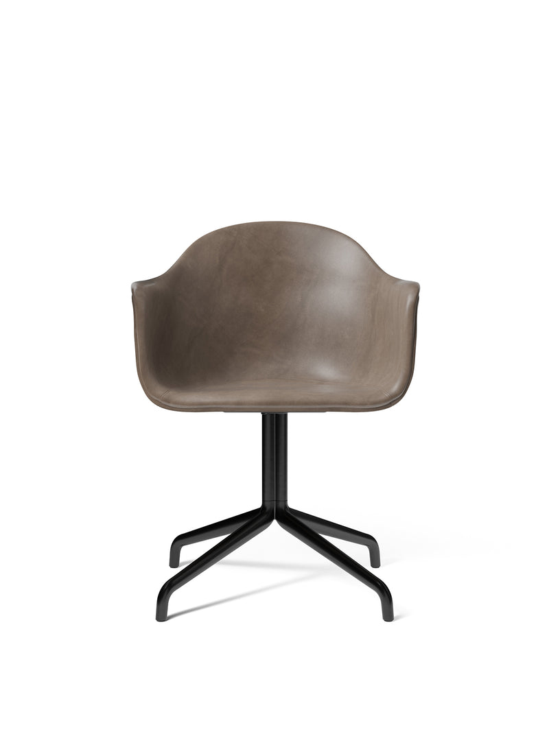 Harbour Dining Chair, Black Star Base, upholstered