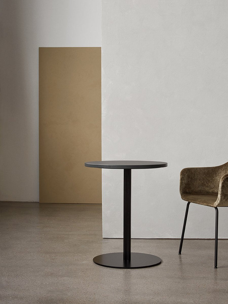 Harbour Column Table, Circular-Café Table-Norm Architects-menu-minimalist-modern-danish-design-home-decor