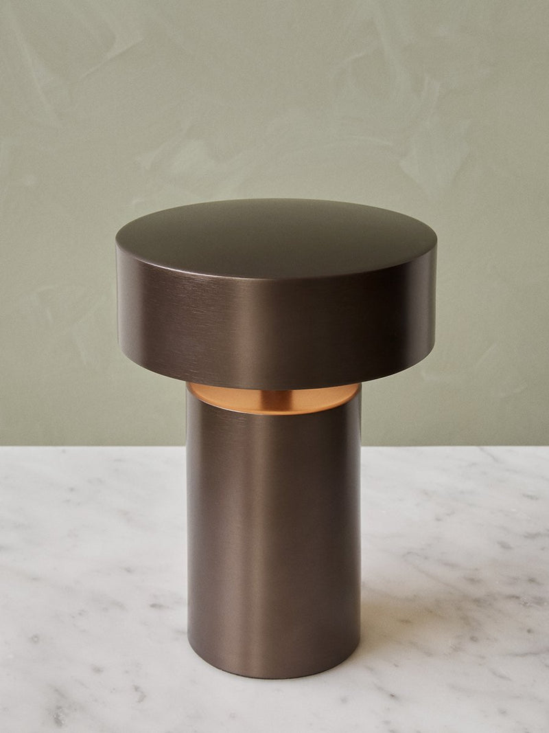Column LED Table Lamp-Portable Lamp-Norm Architects-Bronzed-menu-minimalist-modern-danish-design-home-decor