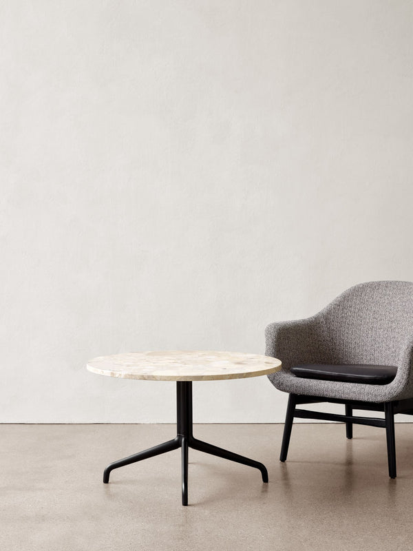 Harbour Column Table, Round With Star Base-Café Table-Norm Architects-menu-minimalist-modern-danish-design-home-decor
