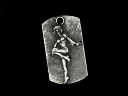 Rodeo Gal Dog Tag