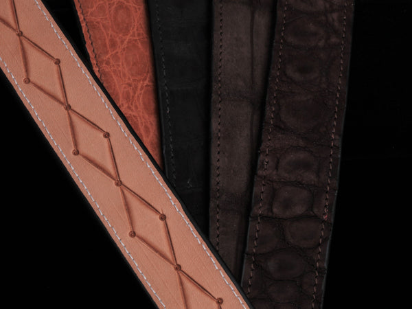 CH Exclusive Suede Alligator Belts (Classic Colors)